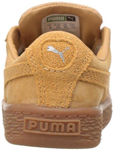 PUMA Baby Basket Classic Weatherproof Kids Sneaker, Taffy-Taffy, 5 M US Toddler