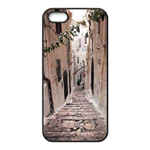 ALICASE Diy Customized Hard Case Road for iPhone 5,5S [Pattern-1]