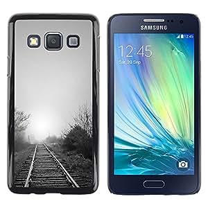Estuche Cubierta Shell Smartphone estuche protector duro para el teléfono móvil Caso Samsung Galaxy A3 SM-A300 / CECELL Phone case / / Nature Beautiful Forrest Green 119 /