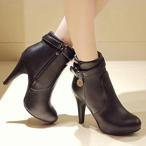 TriLance Botas de Mujer, Botines para Adulto, Zapatos Otoño ...