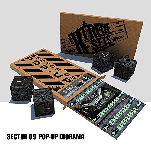 Sector 09 Pop-Up Diorama
