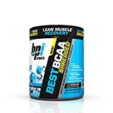 BPI Sports Best BCAA Shredded Caffeine Free Thermogenic Recovery Formula for Lean Muscle Growth, Blue Raz, 9.7 Ounce