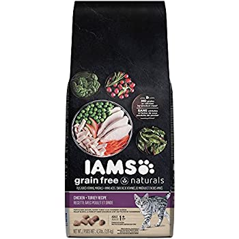 Iams Grain Free Naturals Chicken Salmon Recipe Dry Cat Food
