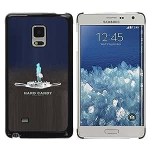 TopCaseStore / la caja del caucho duro de la cubierta de protección de la piel - Hard Candy Trap - Samsung Galaxy Mega 5.8 9150 9152