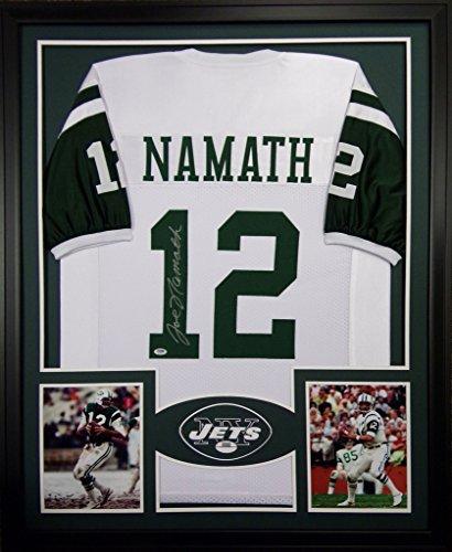 joe-namath-framed-jersey-signed-psa-dna-autographed-new-york-jets