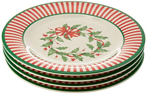 Lenox 880211 Holiday Melamine Accent Plates, Multicolor