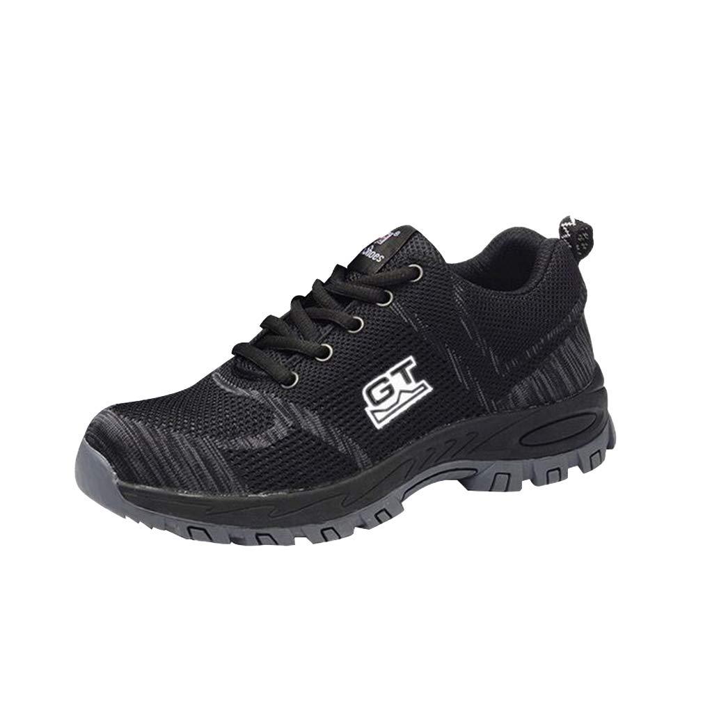 Juleya Chaussures Hommes 19999 de sécurité | Chaussures de Travail pour B06XH2WWPY Hommes Femmes | Baskets Basses légères en Acier Noir 0921867 - therethere.space
