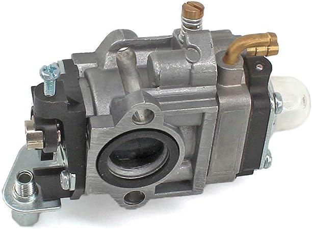 AISEN Vergaser mit Z/ündkerze Benzinfilter f/ür Timbertech MS-2TL-52 Motorsense Freischneider 3PS 52ccm