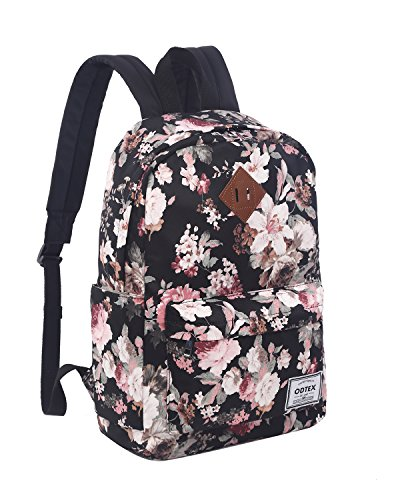 ODTEX Backpack Fits for 15 inch Laptop and Tablet Black Flow