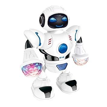 Elektronisches Tanzen Smart Space Roboter Astronaut Kinder Musik Spielzeug Spiel