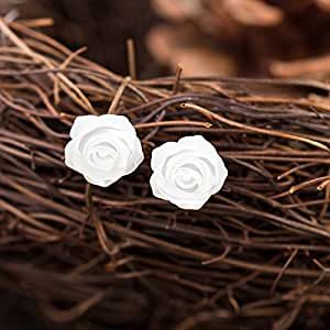 CRF Madre Natural pendientes de concha Bebe hipoalergénico femeninos