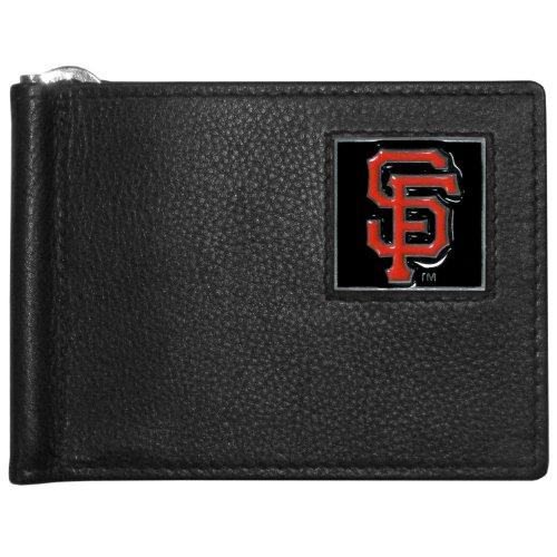 MLB San Francisco Giants Leather Bill Clip Wallet