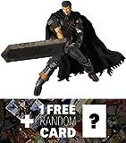 Guts: ~11.8'' Berserk x Real Action Heroes Figure Series + 1 FREE Anime Themed Trading Card Bundle