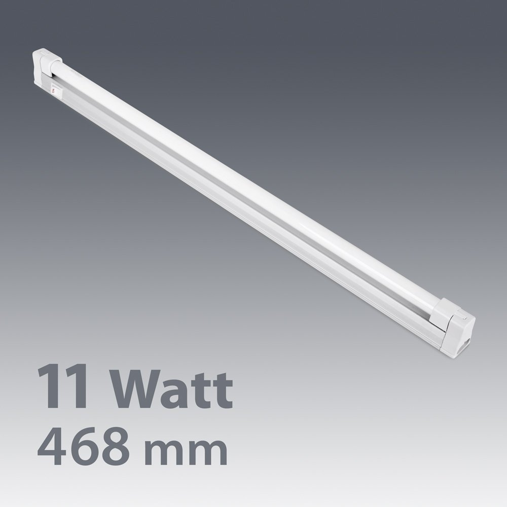 White t5 11w fluorescent warm white linkable under cupboardcabinet white t5 11w fluorescent warm white linkable under cupboardcabinet strip light 468mm amazon lighting aloadofball Image collections