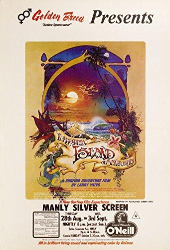 Forgotten Island of Santosha 1975 Australian One Sheet Poster