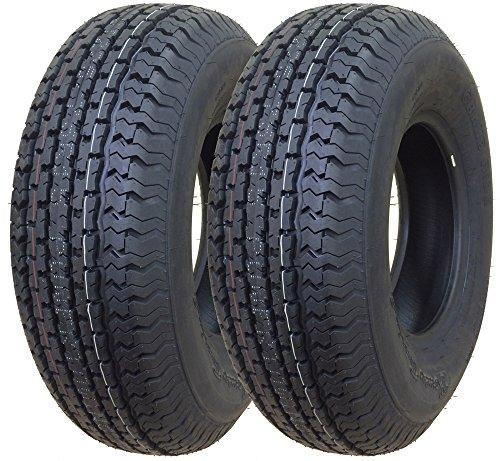 2 New GREMAX Trailer Tires ST 225/75R15 10PR Load Range E