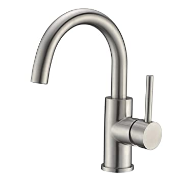 Sink Bar Faucet In Stainless Steel Prep Sink Faucet Small Kitchen