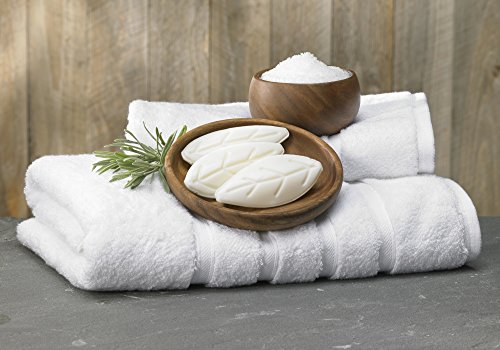 White Tea Soap: Westin Hotels Leaf Shaped Soap. Set of 20. Bar Soap White Tea