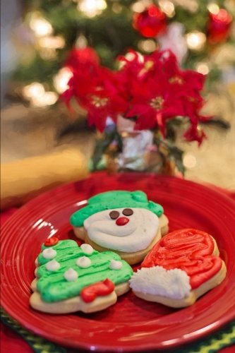 - Decorated Cookies for Santa Journal: 150 Page Lined Notebook/Diary