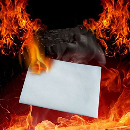 20 PCS Magic Stage Props Flash Paper Flame Fire to Rose Paper Fire Trick 50cm
