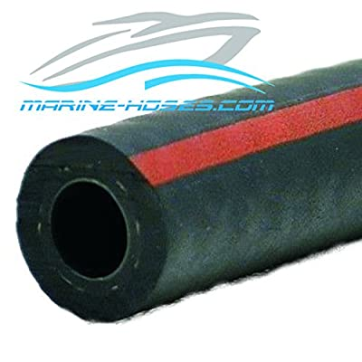 A1 Fuel Line 5/8 ID A1 Low Permeation Marine Fuel Feed Hose 5/8 inch ID Unaflex by the foot: Automotive