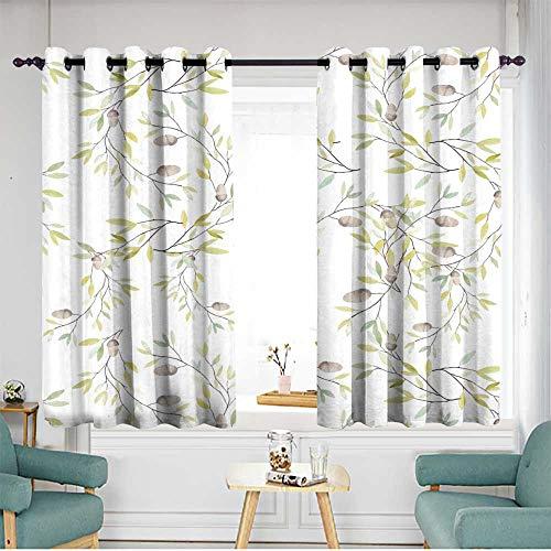 home1love Sliding Door Curtains W 55