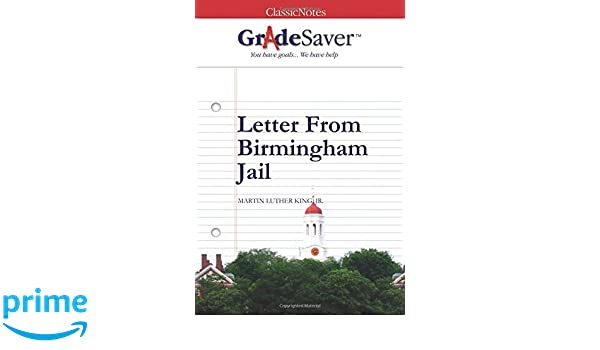 letter from birmingham jail notes