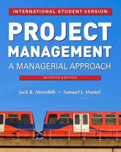 Project Management A Managerial Approach 9th Edition Pdf
