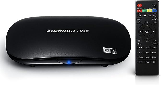 UHD 2K x 4K]VicTop Android 5.1 TV Box / Reproductor de Multimedia de Octa- core con Rockchip 3368, 64bits ARM Coretex A53 CPU,2G RAM+16G eMMC Flash: Amazon.es: Electrónica