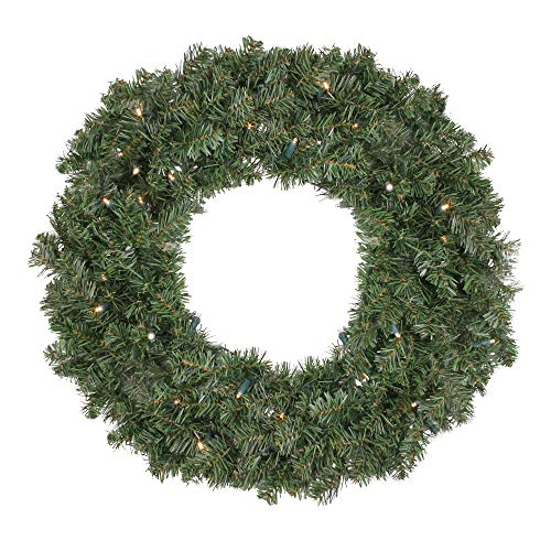 Outdoor Lighted Artificial Christmas Wreaths in US - 4