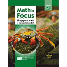 Math in Focus: Singapore Math: Homeschool Package 1st Semester Grade 7