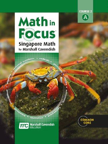 Math in Focus: Singapore Math: Homeschool Package 1st Semester Grade 7