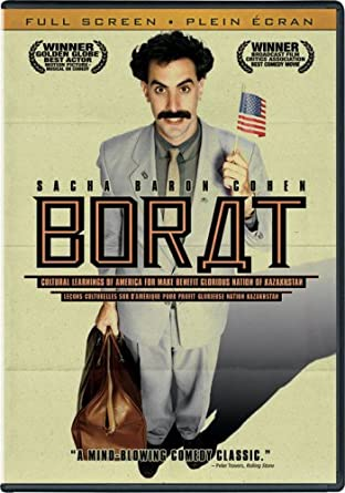 Borat Cultural Learnings Of America For Make Benefit Glorious Nation Of Kazakhstan 2006 Amazon Co Uk Dvd Blu Ray