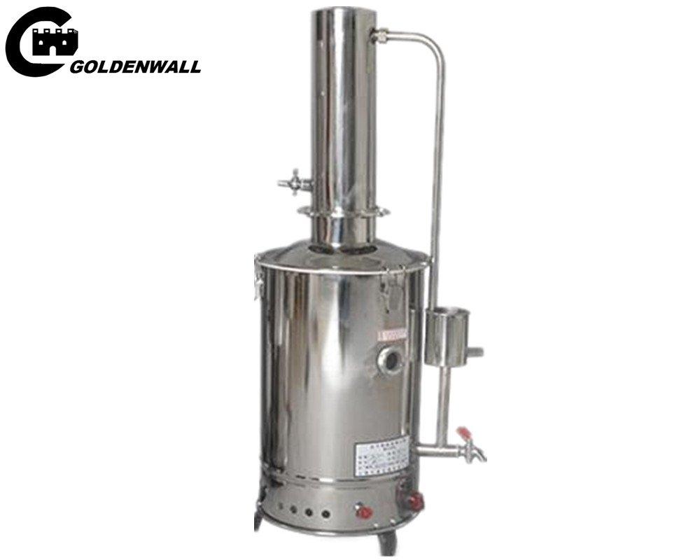cgoldenwall Control automático acero inoxidable máquina eléctrica de agua destilada agua Destilador \, agua libre Generador formedical laboratorio hogar ...