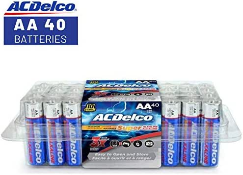Batteries: ACDelco