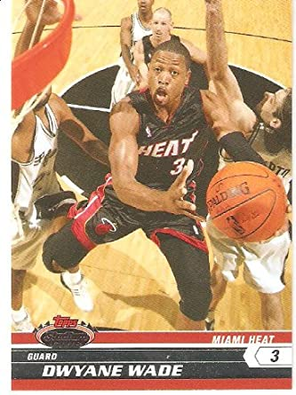 Miami Heat Assorted Basketball Cards 10 Card Lot