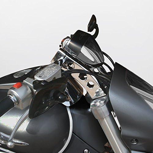 T6 Billet Fits 2006-2019 Suzuki 9 Handlebar Risers Boulevard M109R 5 PullBack Risers Polished Black Path