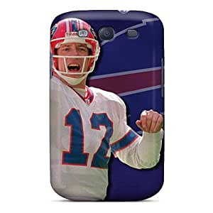 FlowerCase Fashion Protective Buffalo Bills Case Cover For Galaxy S3