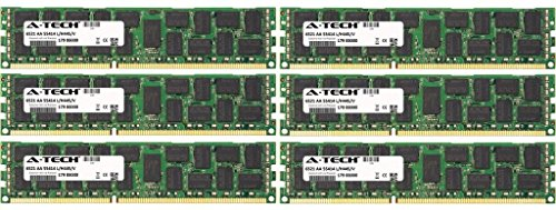 24gb KIT (6 X 4gb) for Hp-compaq Z Workstation Series Z400 (6 Dimm Slots). Dimm Ddr3 ECC Unbuffered Pc3-10600 1333mhz Dual Rank RAM Memory. Genuine A-tech Brand. -