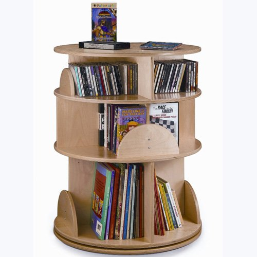 Whitney Brothers Three Level Carousel Media Center (Media Centre Cabinet)
