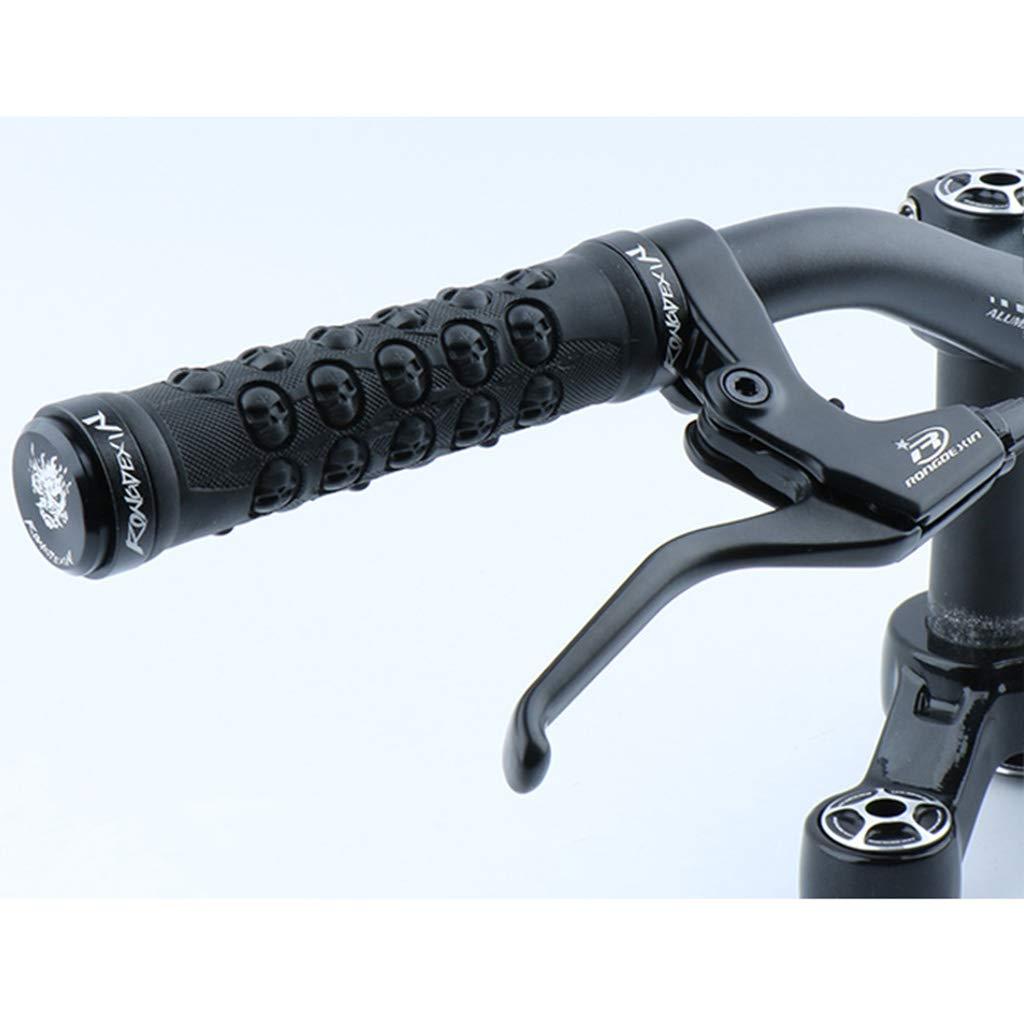 Tongina Non Slip Soft Rubber Bike Handle Grips for Mountain Bike Road Bike Folding Bike and More