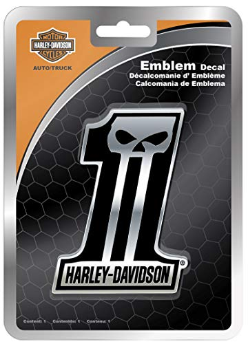CHROMA Graphics 41507 Harley Davidson Dark #1 Emblemz Decal