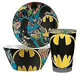 Best IkEA Kids Plates - Zak Design DC Comic Batman 3 pc Kids Review