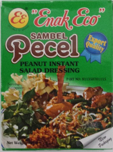 - Enak Eco Sambel Pecel peanut instant salad dressing 4 Pack x ea 200gr
