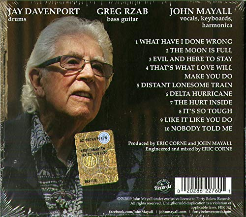 John Mayall - Nobody Told Me 51PIhuw03VL