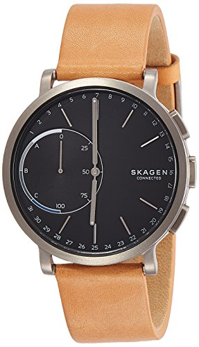 Skagen Hybrid Smartwatch - Hagen Titanium and Tan Leather SKT1104 (Hagen Battery)