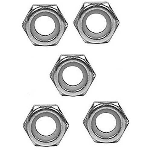 - M82222 New Pack of 5 Lock Nuts for John Deere Rotary Cutter 1018 2018 M10LNT