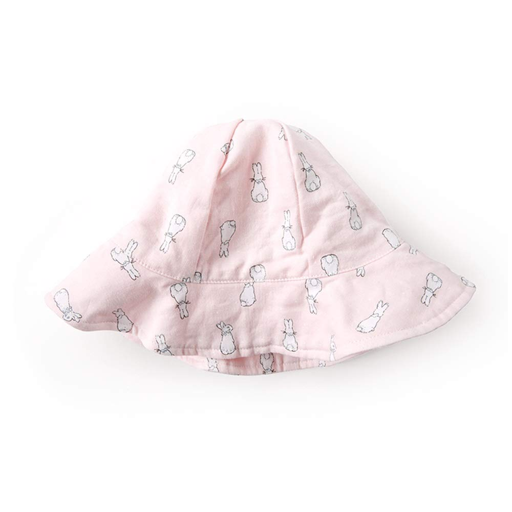 NN Sun hat, Fisherman hat, Sun hat, Wide Side Spring and Summer Thin Section, Cute Fashion, Baby, boy and Girl Children's Outdoor Equipment (Color : Pink, Size : M) by NingNing