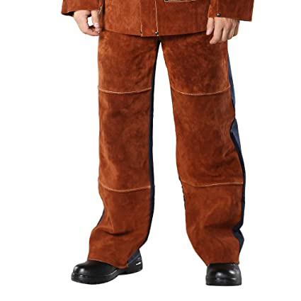 c5c5c845a253d WELDFASS, Welding Chaps Leather Welding Flame/Abrasion Resistant ...