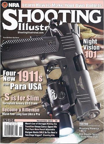 3bc917b758b Shooting Illustrated (November 2013)  John Zent  Amazon.com  Books